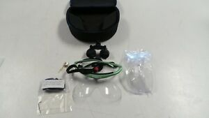 Pair Of Hogies Perioptix 250l 2 5x Dental Medical Loupes With Case