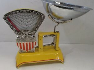 Two Pound National Store Specialty Scale Circa 1910 Yellow