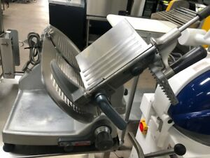 12 Automatic Nsf Meat Cheese Deli Slicer Hobart 2912 New Sharpener 8764 Food