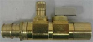Uponor Ball And Balancing Valve R20 Thread X 3 4 Copper Adapter A5902075