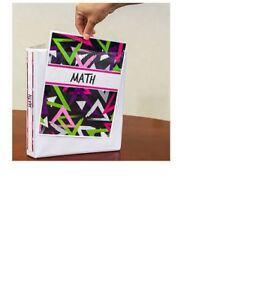 White 3 ring Binders 1 in Jot View pocket Case Of 12