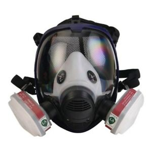 7 In1 Facepiece Respirator Painting Spraying For 3m 6800 Full Face Gas Mask Hot