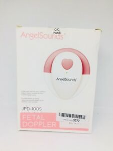 Angelsounds Fetal Doppler Jpd 100s Baby Heart Monitor Fda Approved Usa Pink