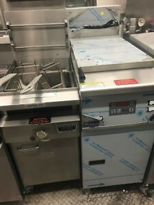 Keating Nat Gas Fryer Instant Recovery All Stainless