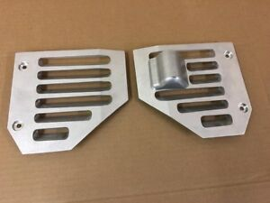 Hummer H2 Side Air Vents With Antenna Base Billet Aluminum Pair Made In Usa