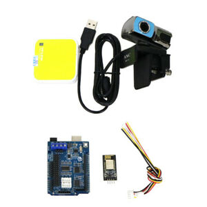 Wifi Motor Driver Board Carmera For Arduino Smart Robot Car Chassis Kit