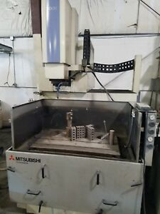 1999 Mitsubishi Model Ex 30 50 4 X 33 5 X 17 7 Table Cnc Ram Edm W c axis