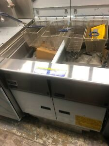 Pitco Frialator Deep Fryer With Filter System Double