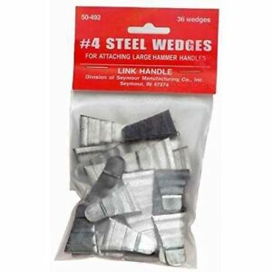 Link Handles 64146 Corrugated Steel Wedges For Large Hammers No 4 3 4 0307470