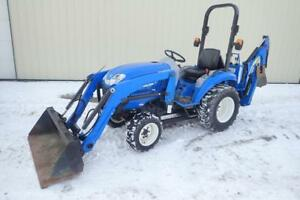 New Holland Boomer 20 Tractor Loader Backhoe 941 Hours 20 Hp Diesel Hydro