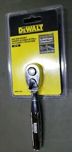 Dewalt Dwmt71803 1 4 Drive Pear Head Ratchet