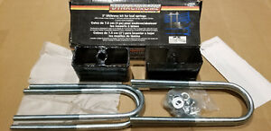New Dynachrome 3 Lift Lower Block U Bolt Kit For Leaf Springs Chevy Ford