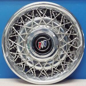 One 1991 1992 Buick Roadmaster 1133 15 Wire Hubcap Wheel Cover Gm 10201267