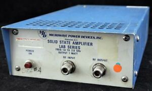 Mpd Microwave Power Devices Lab1 1020 1a Portable 1 2ghz 1w Amplifier