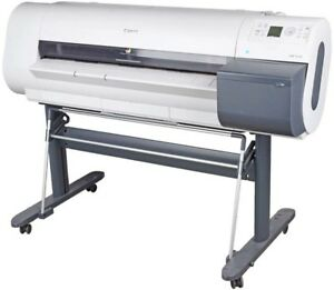 Canon Ipf710 Imageprograf Large Format 36 Color Inkjet Printer Plotter