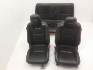 10 15 Chevrolet Camaro Ss Front Rear Seat Black Leather Power