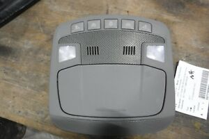 Ford F250sd 2017 Front Roof Console Super Cab W o Sunroof Oem