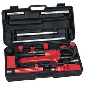 4 Ton Porta Power Hydraulic Auto Body Frame Tool Kit Jack Ram Shop Set Ns5800a