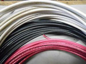6 Awg Stranded Thhn Copper Wire 65 White 61 Black 62 Red