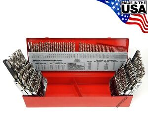 Norseman 115pc Cryo Drill Bit Set Cn tech Number Letter 1 16 To 1 2 Usa Ct 115