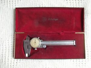 Mitutoyo 4 Dial Calipers Code No 505 495 Made In Japan
