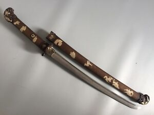 Collectable Japanese Sword Katana Wakizashi Sharp Blade Warriors Saya