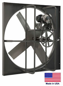 Exhaust Panel Fan Industrial 60 1 5 Hp 115 230v 1 Phase 28 068 Cfm