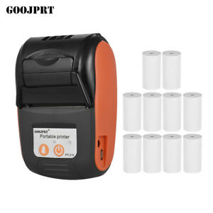 Wireless Bt4 0 Pocket Thermal Receipt Printer paper For Android Mobile 58mm Q3n7