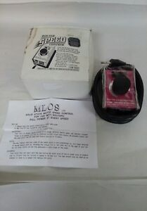 Vintage Router Speed Control 15 Amp Variable Speed Dial Item 9000 New
