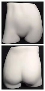 Vintage Jcpenney Retail Display Female Mannequin Butt Form Hips Buttocks Stand