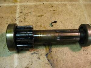 1923 Fordson Model F Tractor Transmission Upper Shaft And Gear 13 Teeth
