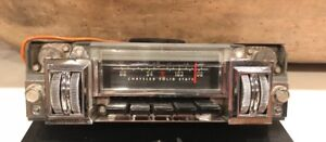 1969 Mopar B Body Am Fm Radio Made In The Usa