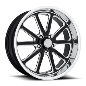 Us Mags Rambler U117 20x8 1 Gloss Black Milled Wheel 5x127 5x5 Qty 4