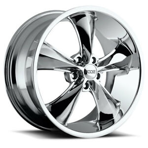 Foose Legend F105 17x9 7 Chrome Wheel 5x114 3 5x4 5 Qty 1