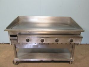 keating 48fld H d Commercial nsf 48 miraclean 480v 3ph Electric Griddle