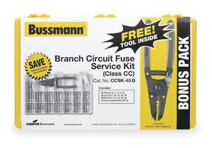 Bussmann Fuse Kit Midget And Cc Class Fuse Kit Kit Type Ccsk 45g