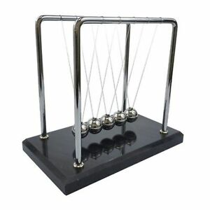 Newton s Cradle 7 Inch Marble Base New