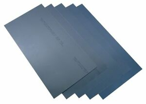 Precision Shim Stock Sheet Blue Steel 0 015 In Pk2 23220