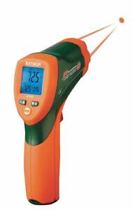 Extech Infrared Thermometer 4 deg To 950 deg f Temp Range f Includes