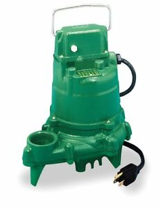 Zoeller 3 10 Hp Submersible Sump Pump None Switch Type Cast Iron Base Material