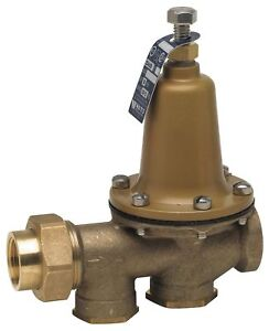Watts Water Pressure Reducing Valve Standard Valve Type Lead Free Brass