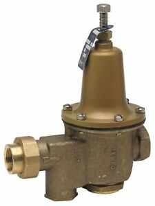 Watts Water Pressure Reducing Valve High Capacity Valve Type Lead Free Brass