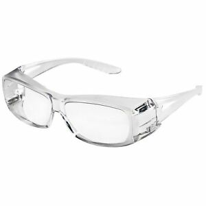 Sellstrom S79100 X350 Clear Safety Glasses Protective Eye Wear Over th New