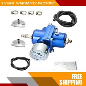Advanced Universal Adjustable Fuel Pressure Regulator With Gauge