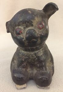 Antique Dog Cast Iron Door Stop