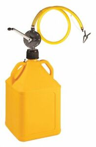 Action Pump Gasproy Rotary Barrel Pump W 15 Gal Yellow Jug
