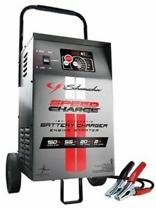 Schumacher Automatic Elite Wheel 12 Volt Shop Battery Charger W Engine Start