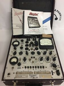 Vintage Classic Hickok High End Tube Tester Model 539b Tested And Works