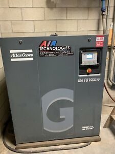 Atlas Copco Ga18vsd Ff Screw Driven Compressor