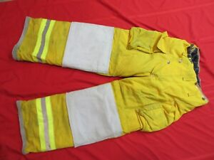 Lion Body Guard 26 X 28 Firefighter Turnout Gear Bunker Gear Pants Thermal Liner